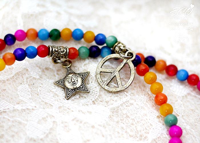 串珠,彩色珠珠,花朵,太陽,皇冠,男孩,LOVE,韓國製手鍊,韓國飾品,手環