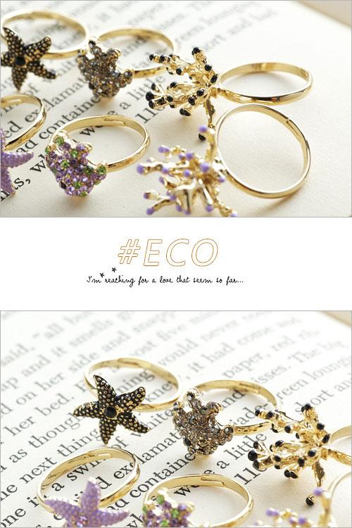 水鑽戒指,黑寶石戒指,韓國製戒指,韓國飾品,戒指