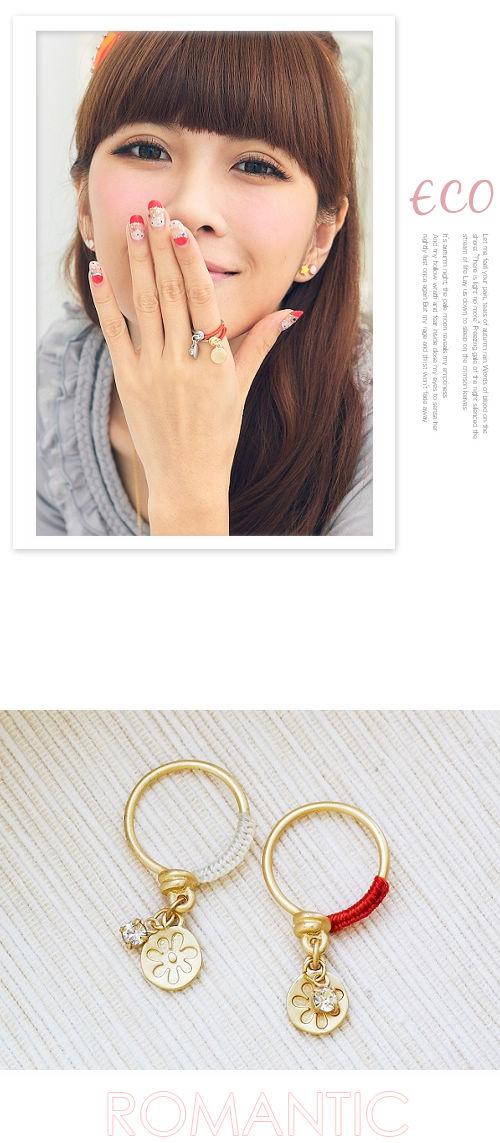 蝴蝶結,復古,鑽石,韓貨,韓國,韓星,韓製,戒指