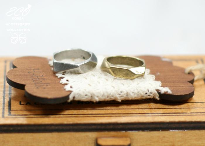 不規則形,切邊,個性款,韓製,韓國,韓貨,戒指,復古