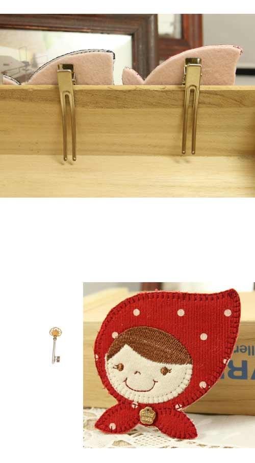 小紅帽,Y字夾,韓國髮飾,韓國髮圈,韓國飾品