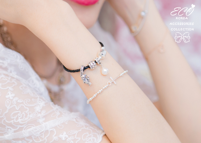 編織,皮繩,皮製,豆豆手鍊,潘朵拉手鍊,925純銀,純銀手鍊,925純銀手鍊,純銀飾品,手鍊
