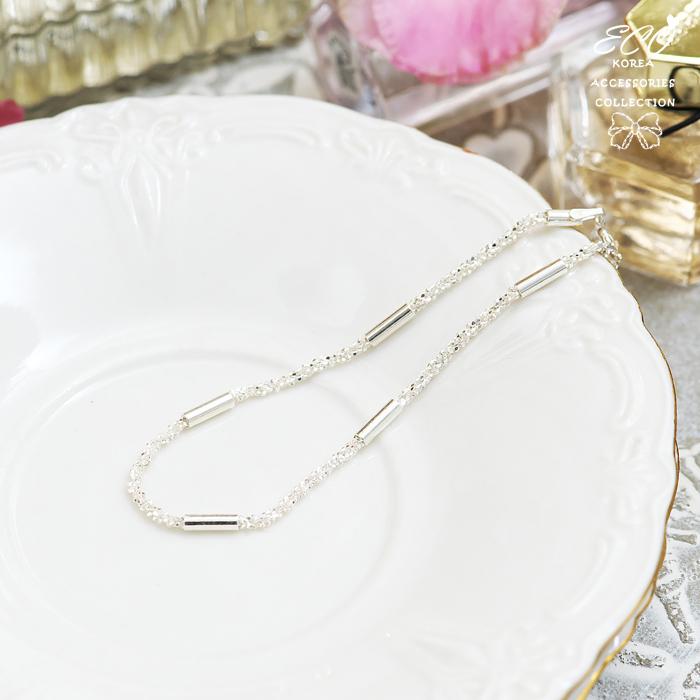 細砂感,碎鑽,銀鍊,925純銀,純銀手鍊,925純銀手鍊,純銀飾品,手鍊