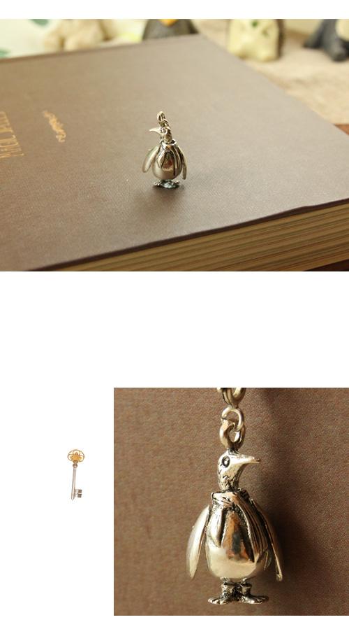 企鵝,銀鍊,鎖骨項鍊,925純銀項鍊,純銀飾品
