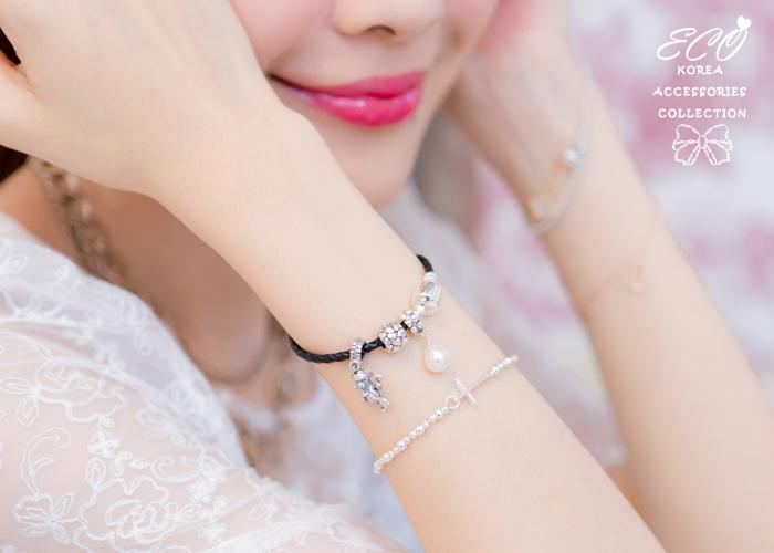 愛心,潘朵拉,純銀豆豆,925純銀項鍊,純銀飾品