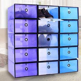 鞋盒收納『Loxin透明鞋盒1入』掀蓋式組合抽屜式 鞋櫃收納