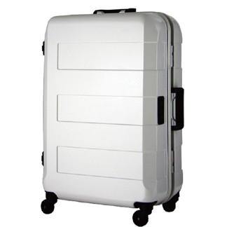 日本 LEGEND WALKER 6021-70-29吋 電子秤鋁框輕量行李箱 白色