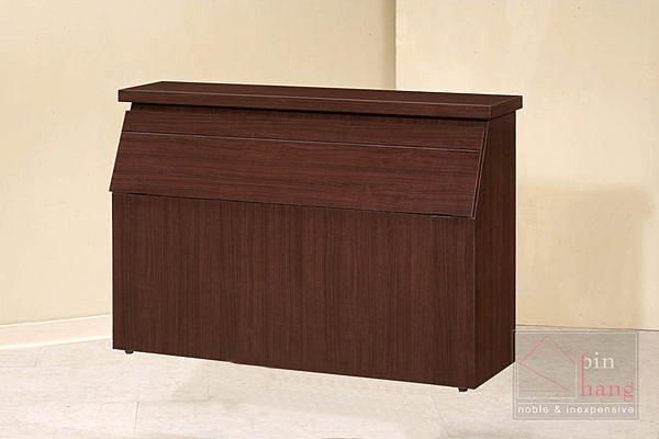 【尚品家具】CF-665 胡桃 3.5 尺 床頭箱