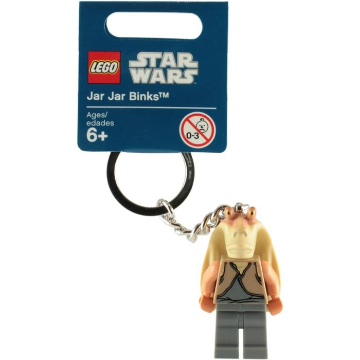 ?法西歐 桃園? LEGO 樂高 KEYCHAIN 鑰匙圈 STAR WAR 星際大戰 Jar Jar Binks 恰恰‧賓克斯