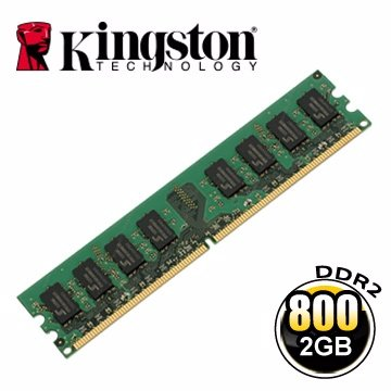 *╯新風尚潮流╭*金士頓 2G 2GB DDR2-800 2GB 記憶體 KVR800D2N6/2G