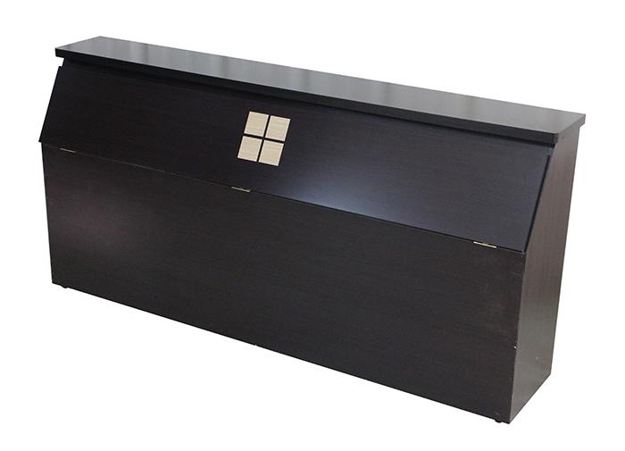 【尚品家具】K-642-09 胡桃5尺床頭箱~另有白橡色/被櫥頭/床頭收納櫥櫃/床頭置物箱/Bed Head