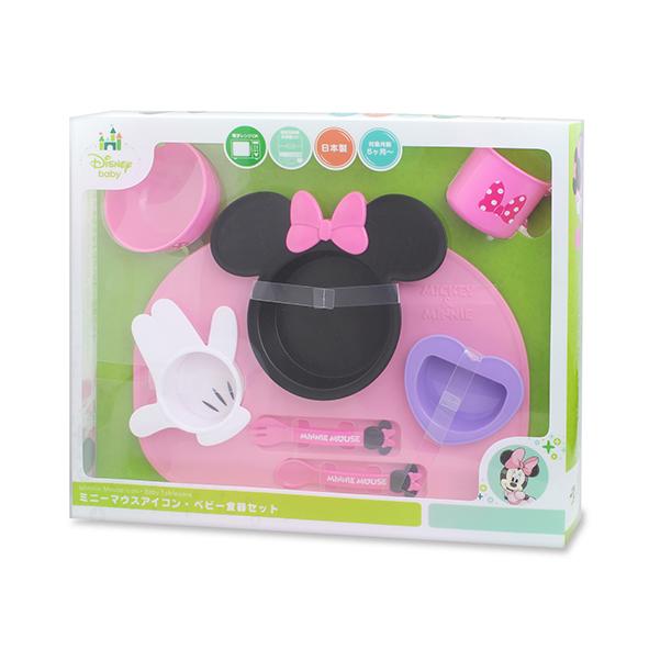 迪士尼 Disney 美妮造型多功能餐具禮盒
