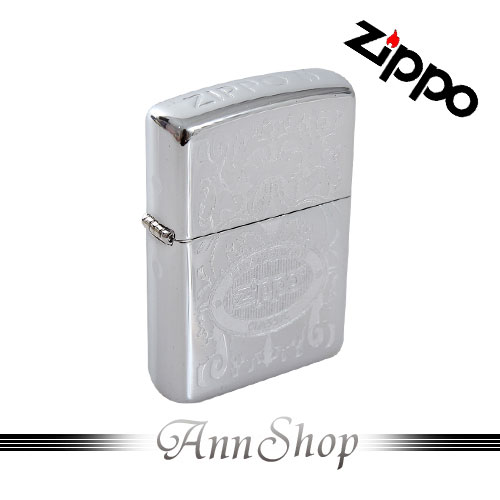 AnnShop【ZIPPO‧ZIPPO的火焰冠冕打火機】小安的店LOGO打印雕刻防風防水美式打火機24751