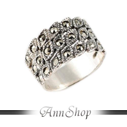 AnnShop【魅力所在純銀戒指‧925純銀】小安的店金剛鑽不生鏽銀飾禮品r9064