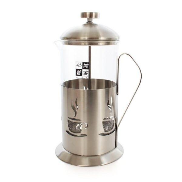 淘禮網  27206妙管家700cc特級不鏽鋼沖茶器