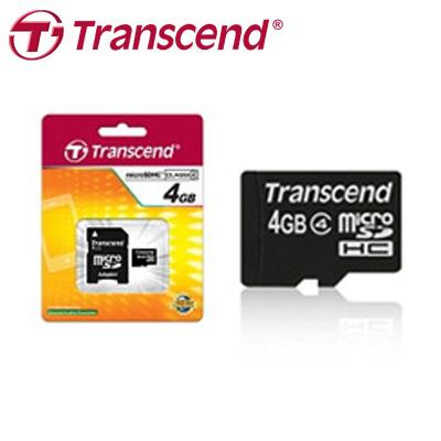 創見 Transcend 記憶卡 microSD/4G CL4小卡 / 個