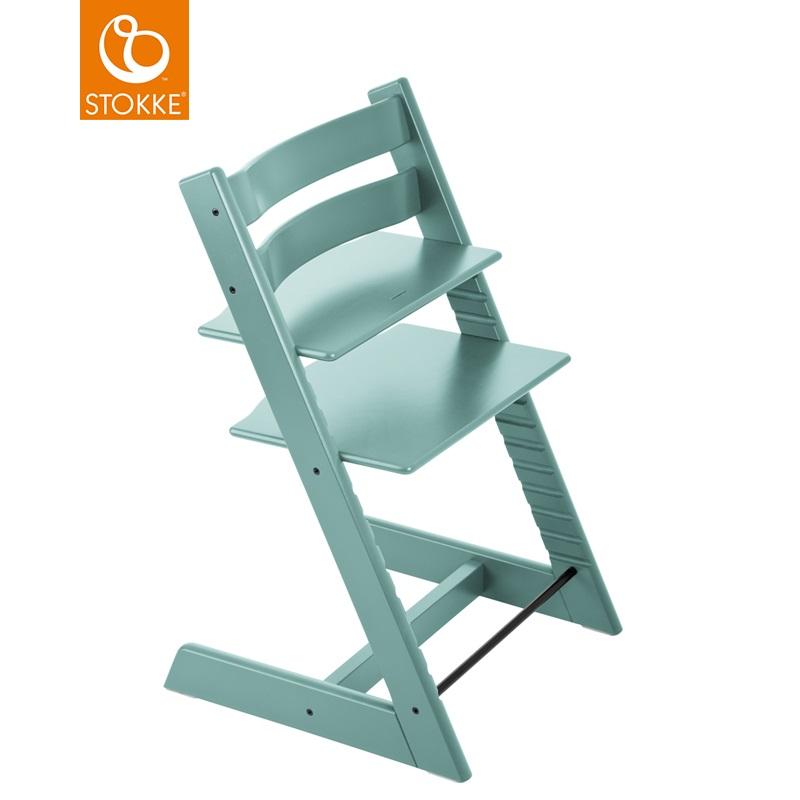 挪威【Stokke】Tripp Trapp 成長椅-水藍
