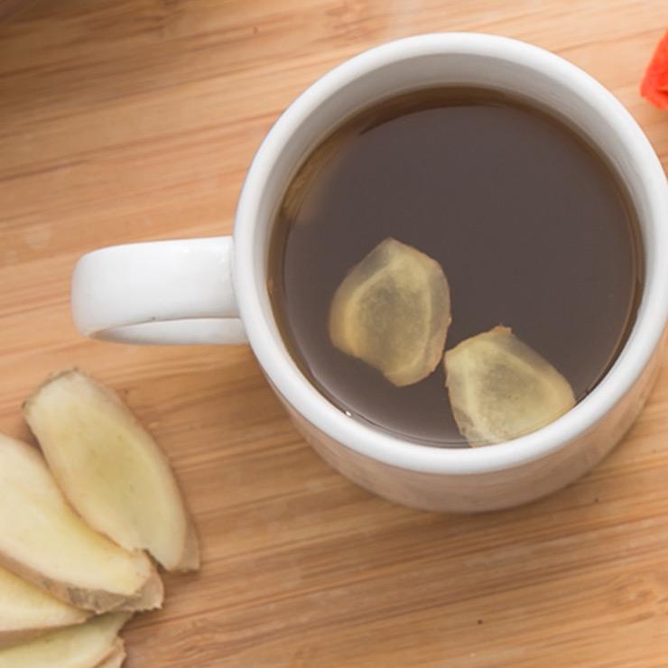 【謙善草本】有機黑糖老薑茶(6入/盒)★暖口不嗆辣
