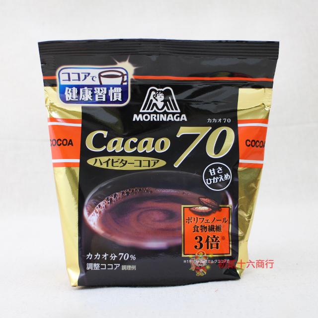 【0216零食會社】日本森永-70%可可粉200g