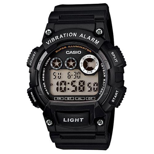 CASIO G-SHOCK W-735H-1A數位10年電力腕錶/黑47mm