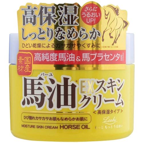 日本原裝【國產素材】高純度馬油配合保濕潤膚乳霜/面霜 100g