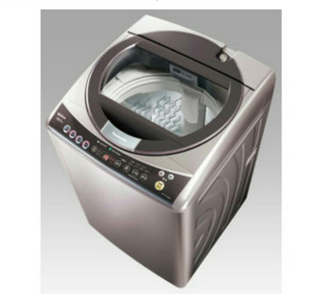國際Panasonic【NA-158VT-H】14公斤單槽洗衣機 不鏽鋼內槽(H-淡瓷灰)大海龍