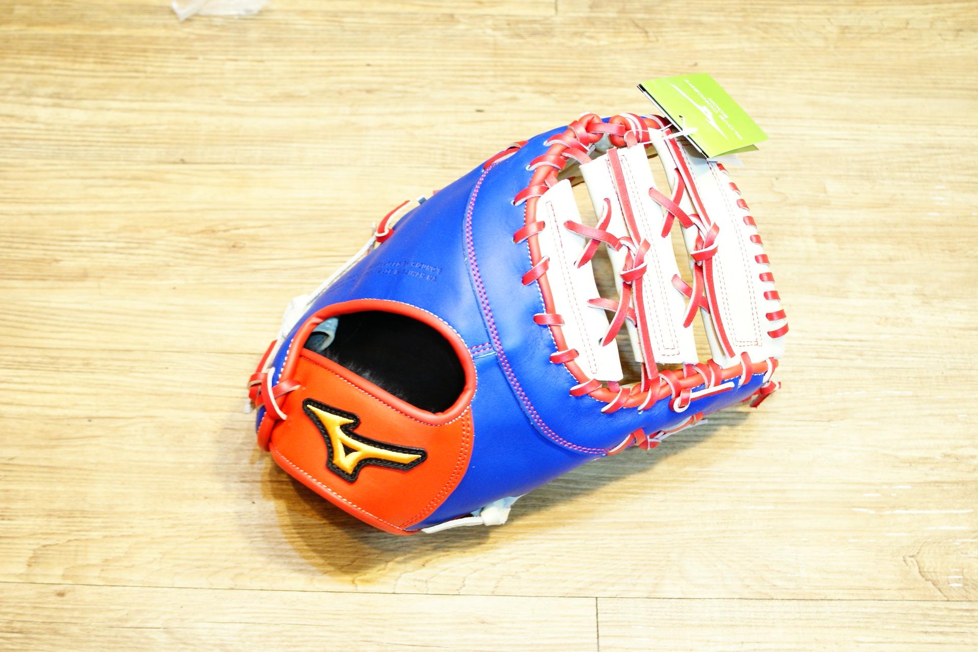 棒球世界 Mizuno美津濃 deep hollow硬式手套 1ATFH50400 特價 棒球一壘手 中華隊配色