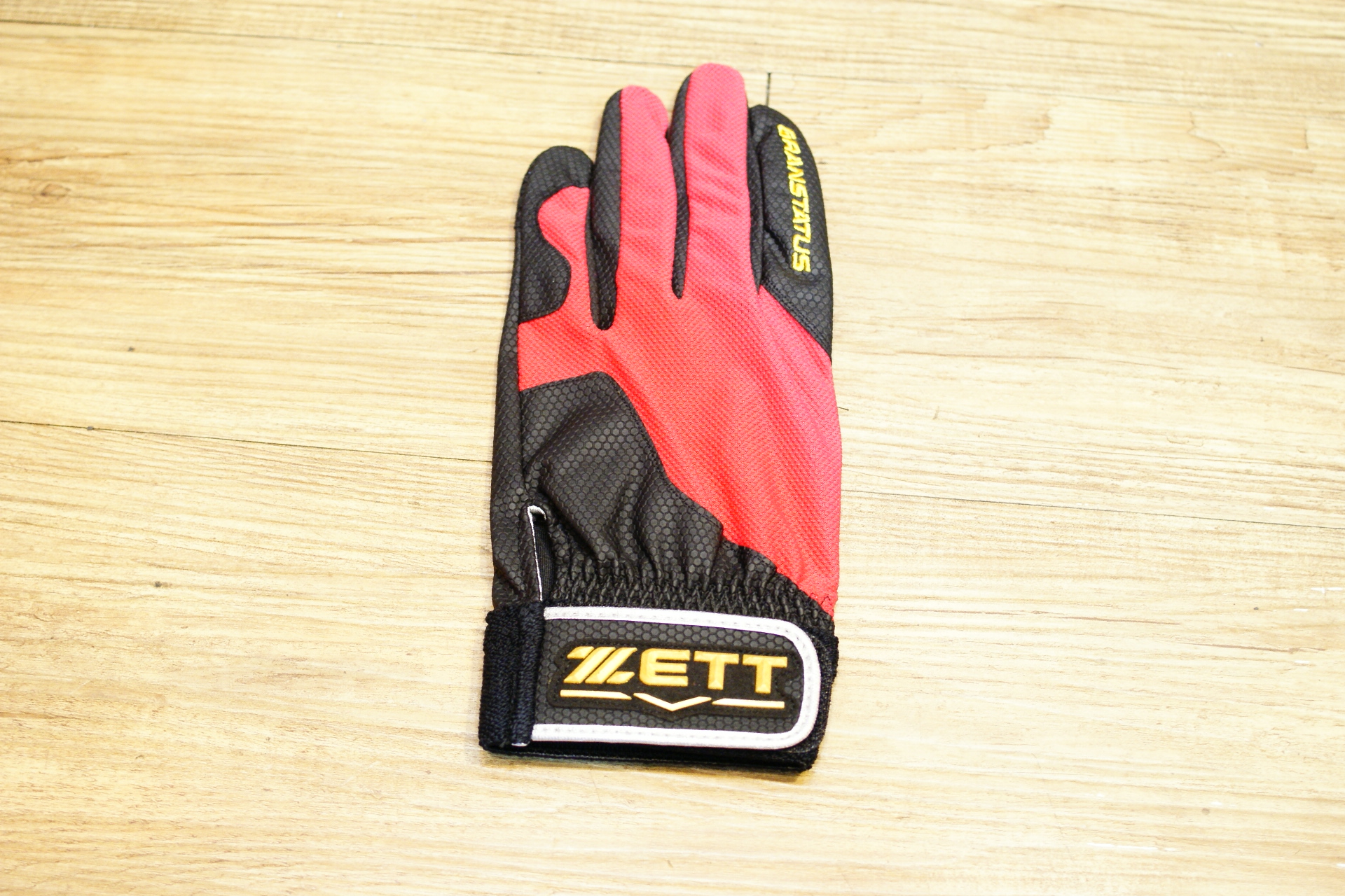 棒球世界 16年ZETT本壘版標全新配色款守備手套 特價 掌面止滑新設計/黑紅配色/