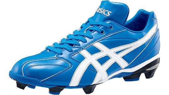 棒球世界 全新ASICS 輕量化 棒.壘球膠釘鞋 SFP100-4201 特價
