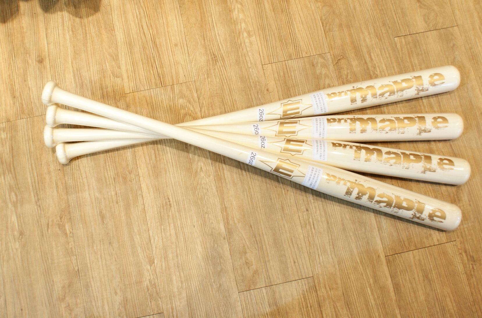 棒球世界EASTON 職業用北美楓木壘球木棒(formosa 神棒等級)特價 原木漂白
