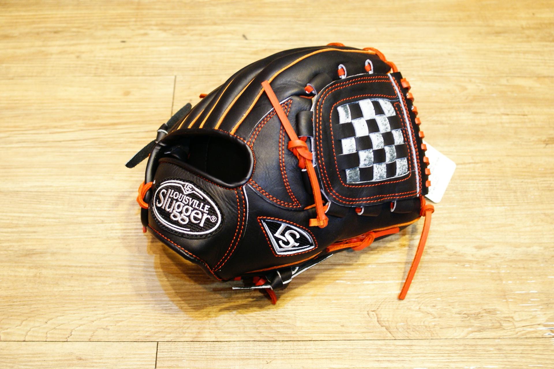 棒球世界 全新Louisvill Slugger 路易斯威爾TPX黑橘配色投手手套 特價