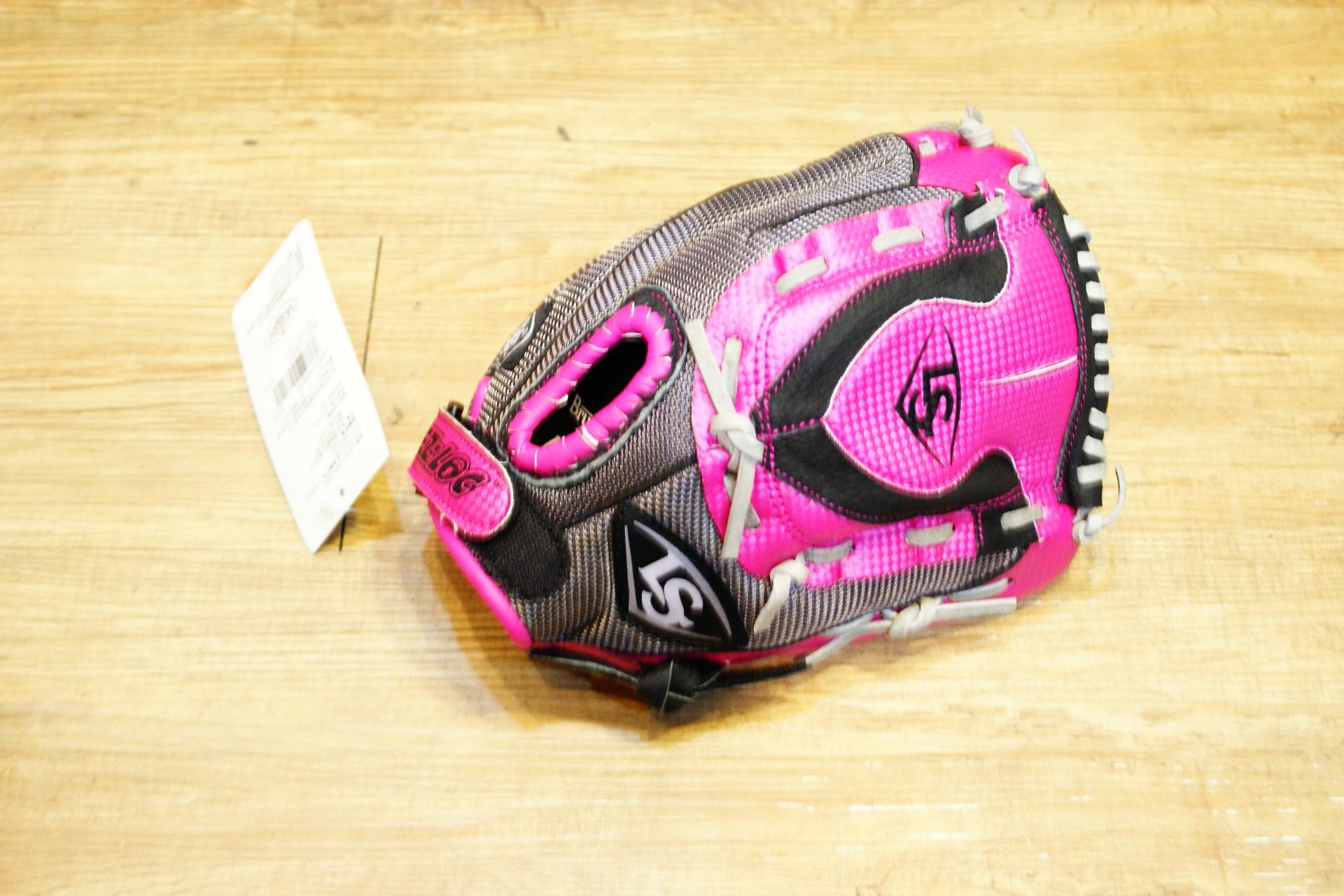 棒球世界 Louisville Slugger 路易斯威爾 DIVA之星系列11吋兒童手套(粉紅/灰)特價