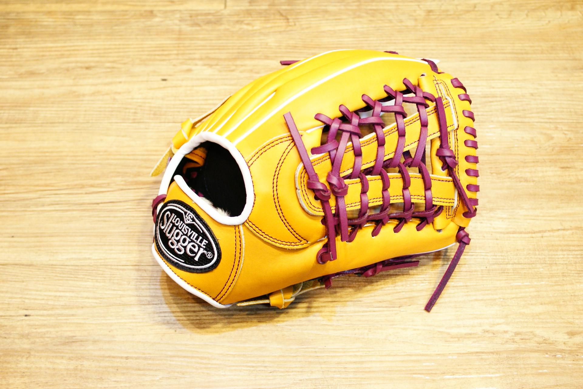 棒球世界 路易士Louisville Slugger (TPX) X Remix 牛皮棒球手套 特價 內野網狀原皮色