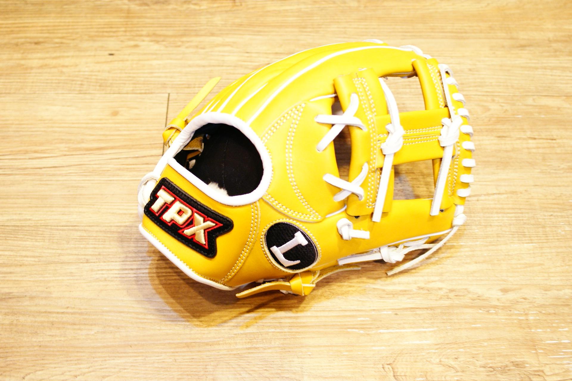 棒球世界 路易士Louisville Slugger (TPX) 戰士牛皮棒球手套 特價 工字 原皮白配色