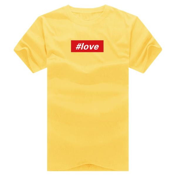 ◆快速出貨◆.T恤.獨家配對情侶裝.客製化.班服.最佳情侶裝.獨家款.純棉短T.MIT台灣製.短袖文字#love.班服【Y0206】可單買.艾咪E舖