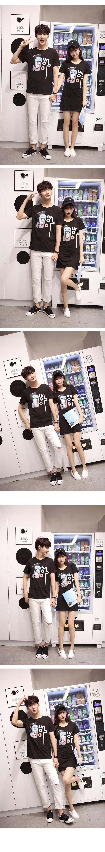 ◆快速出貨◆T恤.情侶裝.班服.MIT台灣製.獨家配對情侶裝.客製化.純棉短T.臉【Y0311】可單買.艾咪E舖