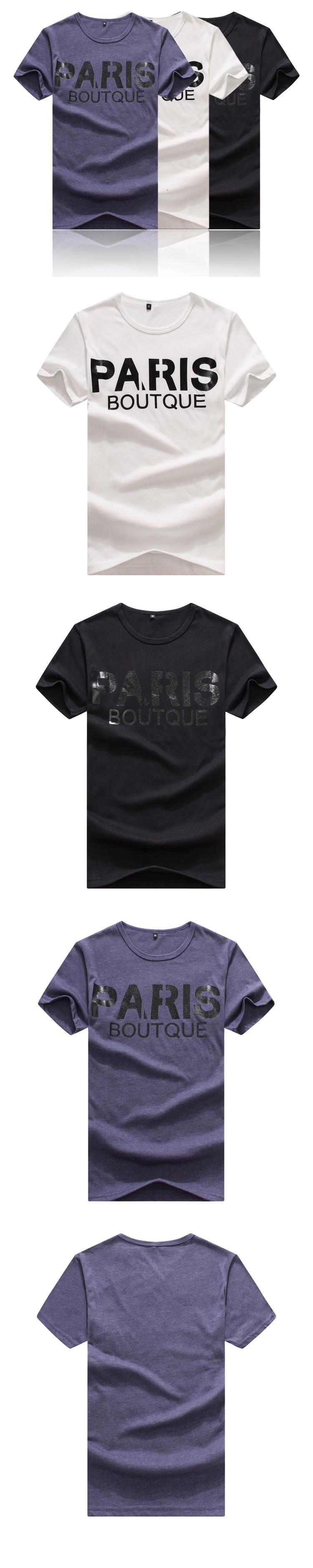 短T.造型短T.潮T.Tshirt.情侶裝.情侶T恤.PARIS BOUTQUE  【MD009】艾咪E舖.班服