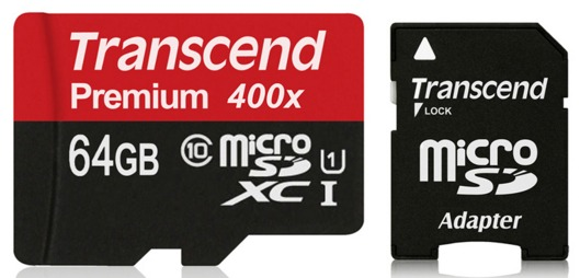 可傑 Transcend 創見 T-Flash micro SD 128G C10 60Mb/s 400x 高速記憶卡