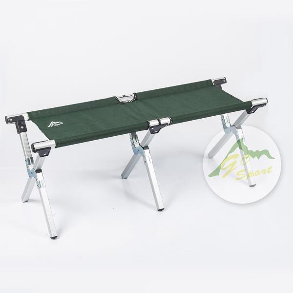 【露營趣】中和 GO SPORT 93412 三折情人椅 行軍椅 摺疊板凳 阿美對對椅 雙人椅 摺疊椅