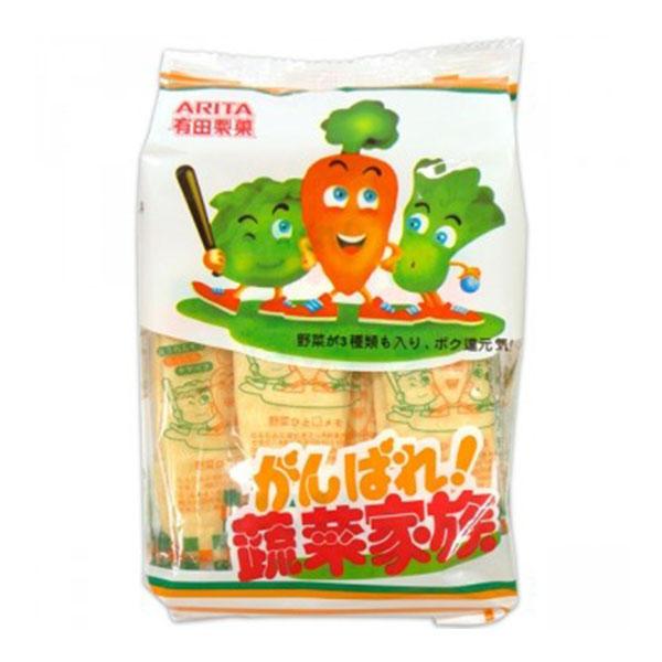 有田乳幼米果/蔬菜/60g【六甲媽咪】