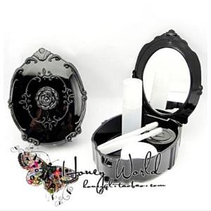 美麗大街【BF581E18E900】ANNA SUI 安娜蘇款玫瑰 隱形眼鏡盒