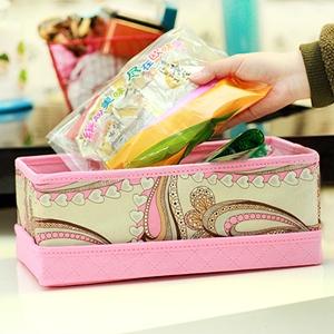 美麗大街【BFD06E5E25】嘉居伴侶龍騰盛世系列-分蓋收納箱粉色小號