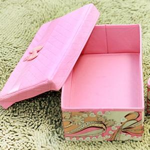 美麗大街【BFD12E4E19EK90】嘉居伴侶龍騰盛世系列-分蓋收納箱粉色大號