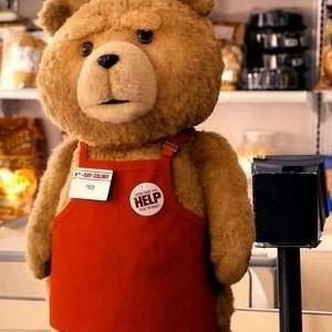 美麗大街【MGTDBR0801】麻吉熊18吋圍兜 泰迪熊Ted Bear 熊麻吉娃娃玩偶
