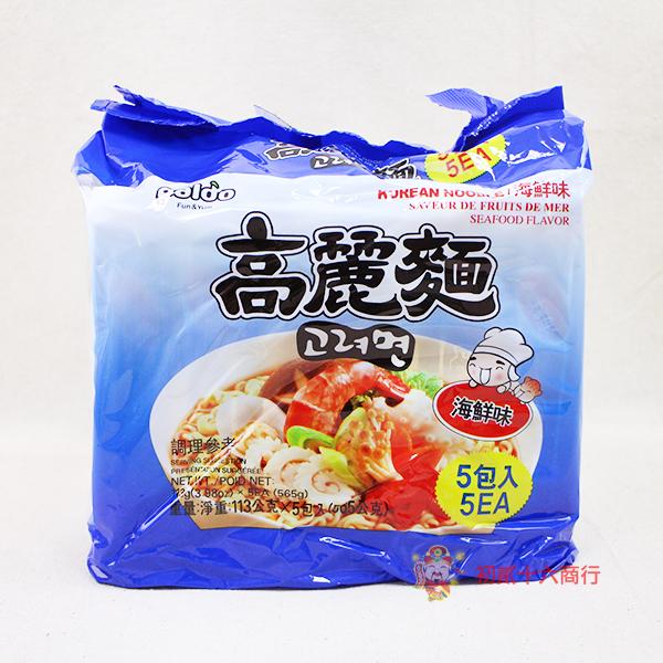 【0216零食會社】韓國Paldo-高麗麵(海鮮味)113g*5包入