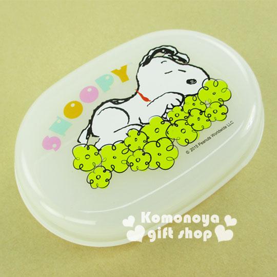 〔小禮堂〕Snoopy 史努比 香皂盒《白.浮雲》輕鬆美化空間