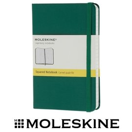 義大利 MOLESKINE 66136286 彩色方格筆記本/ 綠192 /P