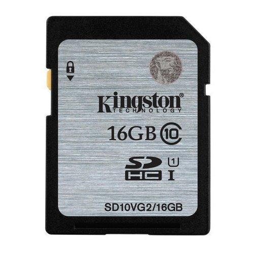 *╯新風尚潮流╭*金士頓記憶卡 16G 16GB SDHC C10 UHS-I U1 SD10VG2/16GB