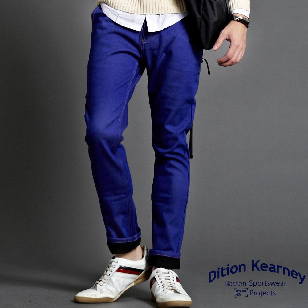 DITION  韓系彈力skinny四代內刷毛牛仔褲 有加大尺碼