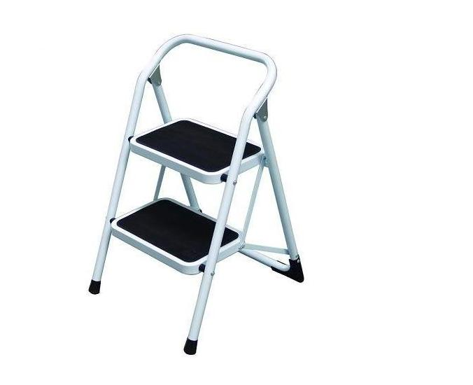 金梯屋LH-02鐵梯 大踏板2階工作梯 扶手梯 折疊梯